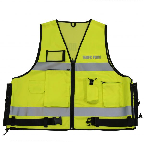 Полицейска сигнална жилетка