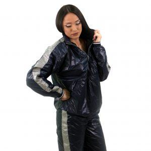 Дамски черен спортен комплект